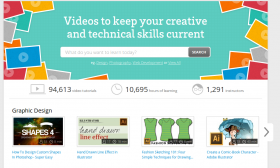 The home page of Skillfeed.com, as seen on September 15, 2015.